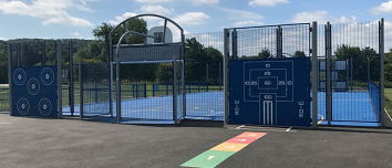 Example MUGA with activity walls