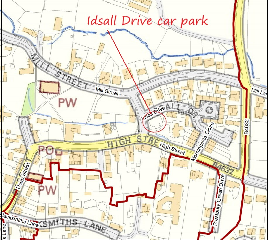 Idsall Drive Car Park  – important update
