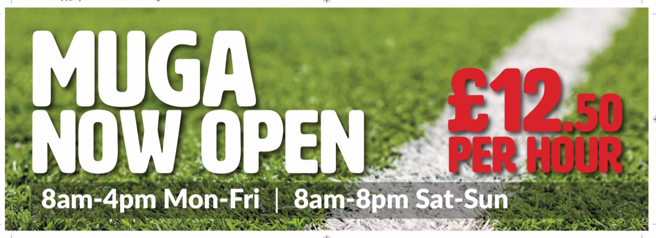 MUGA reopening – Monday 29 March 2021